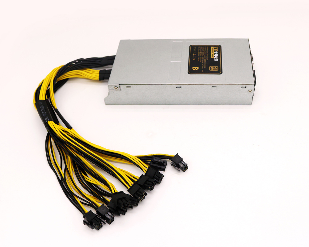 Manufacture 1800W 90plus PC ATX power supply for S7 S9 L3+ D3 R4 Bitcoin miner